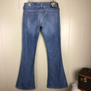 True Religion Jeans  Caroline flair 28